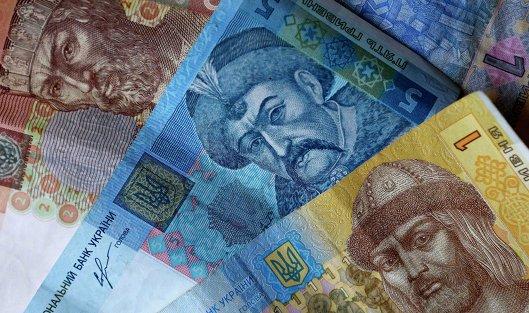 #Денежные купюры и монеты США и Украины