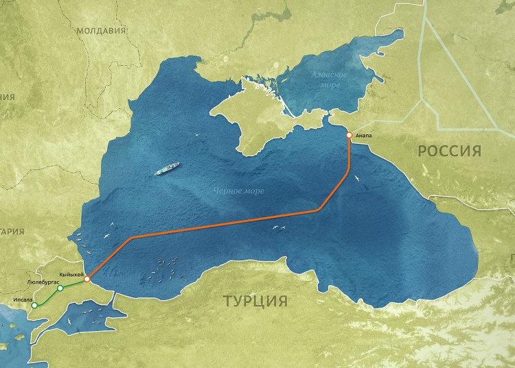 "Морской газопровод ""Турецкий поток"""