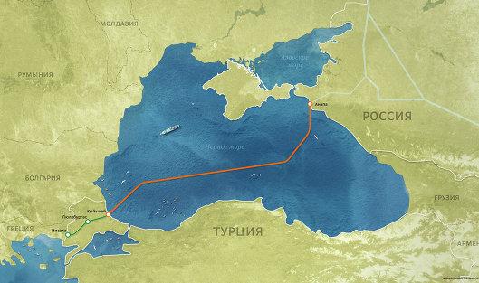 "#Морской газопровод ""Турецкий поток"""