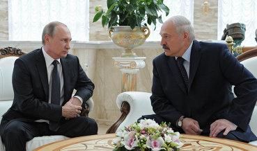 Путин заявил об урегулировании всех спорных вопросов с Белоруссией