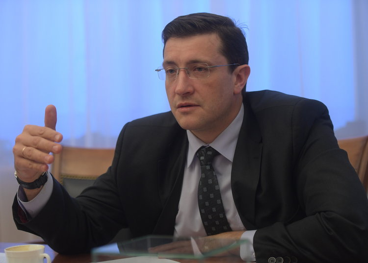 Первый заместитель министра промышленности и торговли Глеб Никитин