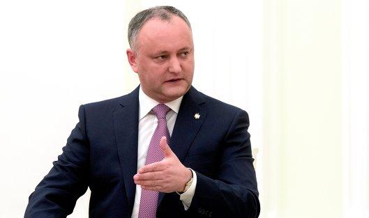 Президент Республики Молдова Игорь Додон