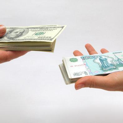#Рублевые и долларовые купюры
