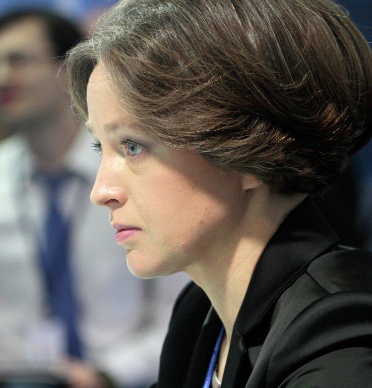 """Первый вице-президент, член правления ОАО """"Газпромбанк"""" Екатерина Трофимова"""