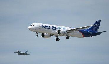 Самолет МС-21 завершил первый этап летных испытаний