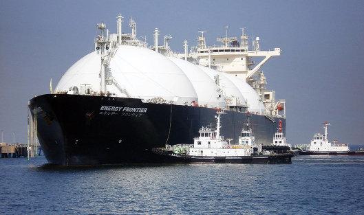 #Танкер для транспортировки сжиженного природного газа