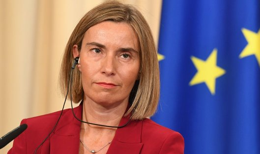 Могерини: В ближайшие 2 недели могут одобрить новые санкции против РФ из-за Керчи
