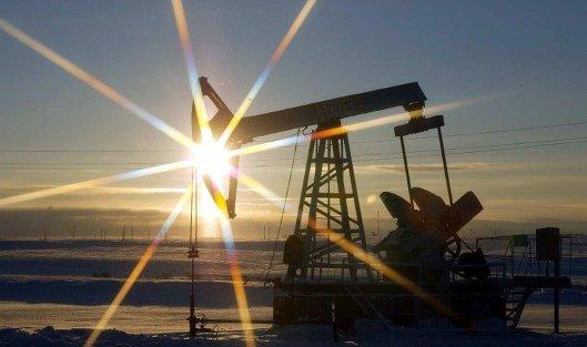 # нефть добыча качалка