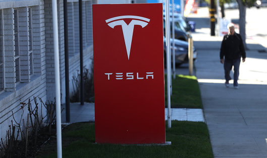 827791230 - Акции Tesla выросли на 5% на новостях о рекордных объемах производства