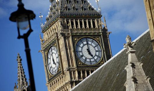 #Крыша Вестминстерского дворца в Лондоне, где заседает парламент Великобритании