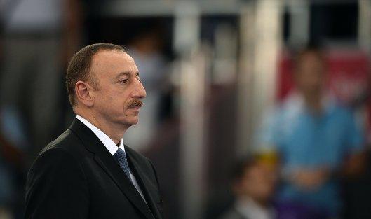 #Президент Азербайджана Ильхам Алиев. Архивное фото