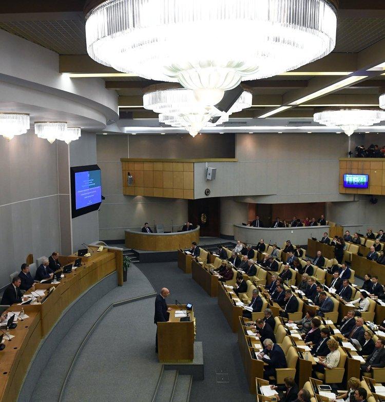 Министр финансов РФ Антон Силуанов выступает на парламентских слушаниях комитета Государственной Думы по бюджету и налогам. 10 октября 2016