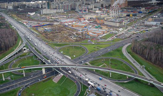 Москва потратит 400 млрд руб. настроительство дорог вближайшие три года
