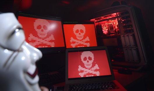 #Глобальная атака вируса-вымогателя