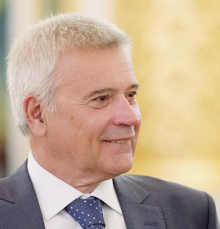 """Президент ОАО """"Лукойл"""" Вагит Алекперов"""