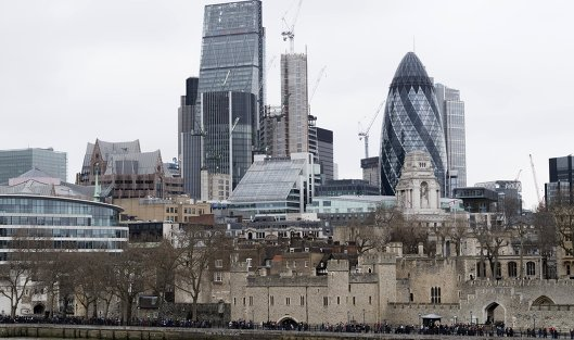 #Лондон-Сити и небоскреб Мэри-Экс