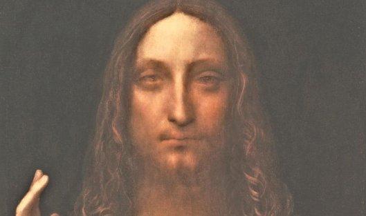 Картина Леонардо Да Винчи'Спаситель мира