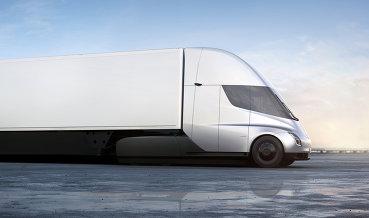 DHL зарезервировала грузовики Tesla
