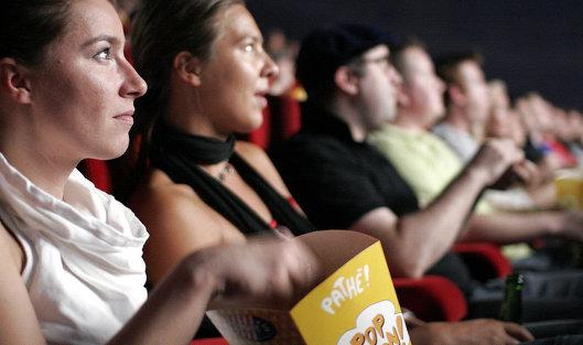 #Зрители в кинотеатре