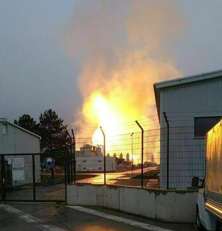 Взрыв на газопроводе в Австрии. 12 декабря 2017