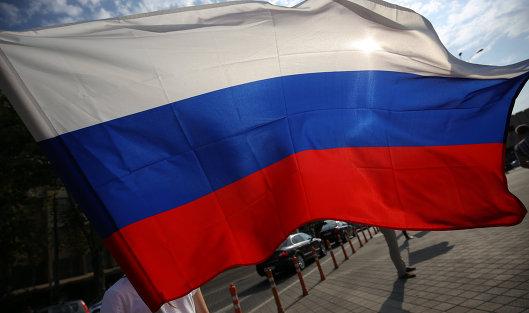 #Празднование Дня Государственного флага РФ в Краснодаре