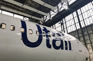 """Самолет Boeing 737-800 авиакомпании Utair"