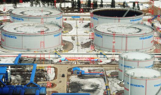 # Нефтеналивной терминал в порту Усть-Луга