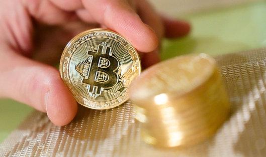 #Сувенирные монеты с логотипами криптовалюты биткоин