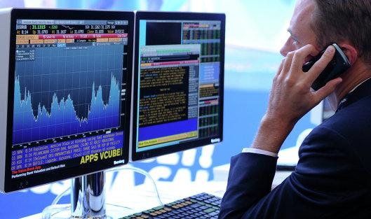 #Экран, транслирующий биржевые графики и диаграммы