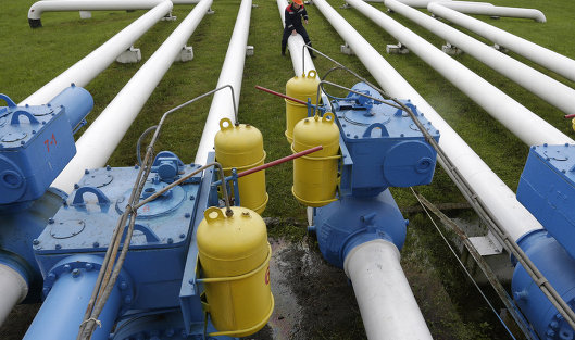 РФ значительно снизила транзит газа через Украина