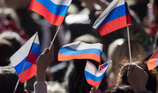 #Митинг в Севастополе в честь годовщины воссоединения Крыма с Россией