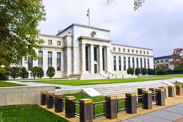 #здание ФРС США в Вашингтоне