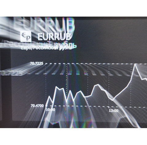 Курс евро поднялся выше 93 рублей