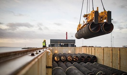 """828623321 - """"Газпром"""" заложил акции Nord Stream 2 AG по обязательствам на 90 млрд руб"""