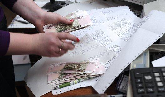 #В Крыму начали выдавать пенсии в российских рублях