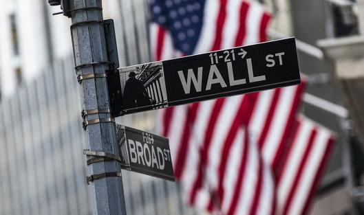#Информационный указатель на Уолл-стрит в Нью-Йорке