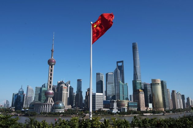 %Район Пудун в Шанхае