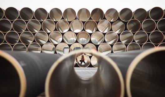 """828696157 - """"Газпром"""" заплатит 75 млрд руб за строительство в РФ трубы к """"Северному потоку-2"""""""