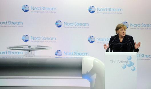 """828699560 - Меркель: """"Северный поток-2"""" невозможен без определения роли украинского транзита"""