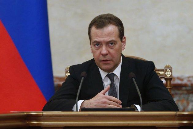 #Дмитрий Медведев проводит заседание правительства РФ.