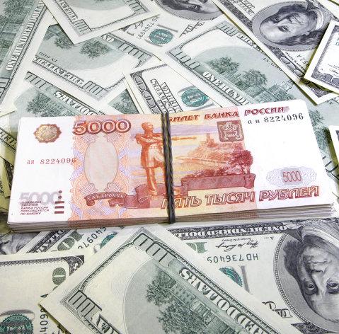 Рубль обновил максимум с октября, доллар уже по 65 рублей