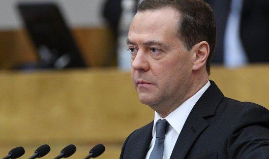 #Дмитрий Медведев выступает в Государственной Думе РФ. 11 апреля 2018