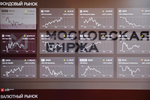 % Московская биржа
