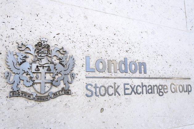 Лондонская фондовая биржа в Лондоне