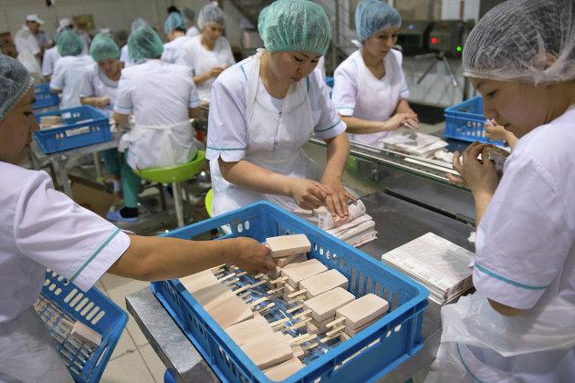 Mars запустил производство мороженого в России