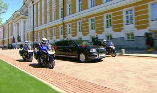 # Инаугурация президента РФ Владимира Путина