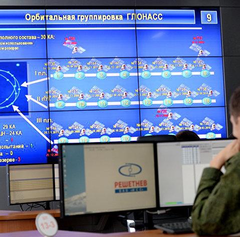 #Командный пункт управления ГЛОНАСС в испытательном космическом центре имени Г.С.Титова