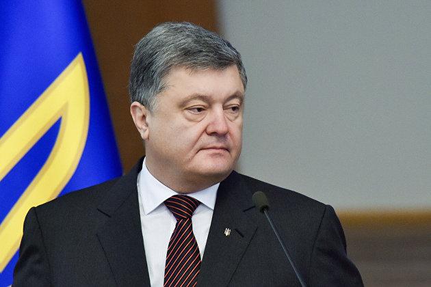 Президент Украины Петр Порошенко в Киеве
