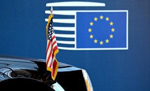 """ Флаги США и ЕС"