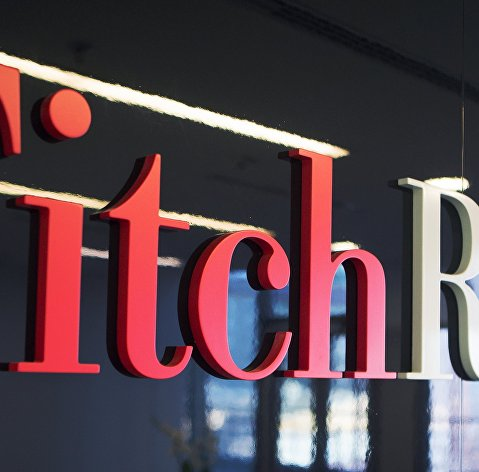 %Логотип агентства Fitch Ratings